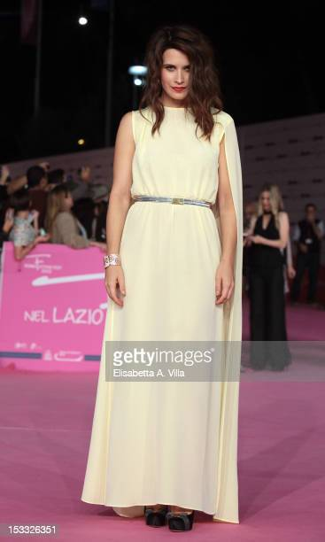 Actress Valentina Cervi attends 'True Blood 5' premiere during the 2012 RomaFictionFest at Auditorium Parco della Musica on October 3 2012 in Rome...