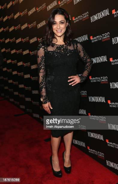Actress Valentina Lodovini attends Hamilton and Los Angeles Confidential Magazine's announcement of the 7th Annual Hamilton Behind The Camera Awards...