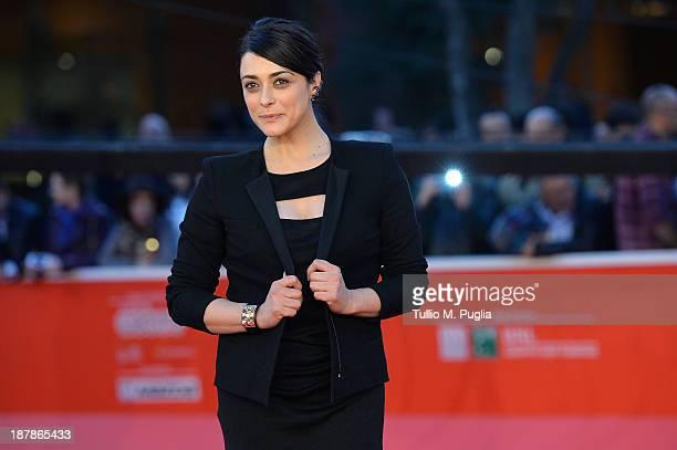 Actress Valentina Lodovini attends 'Il Sud E Niente' Premiere during The 8th Rome Film Festival at Auditorium Parco Della Musica on November 13 2013...