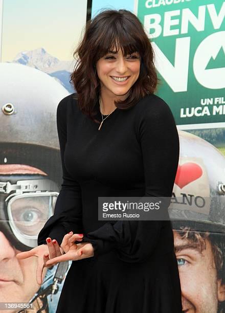 Actress Valentina Lodovini attends the 'Benvenuti Al Nord' photocall at Visconti Palace Hotel on January 13 2012 in Rome Italy
