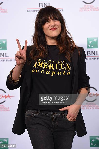 Actress Valentina Lodovini attends the 'Buoni A Nulla' Photocall during the 9th Rome Film Festival on October 18 2014 in Rome Italy