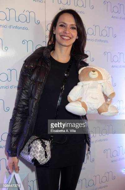 Actress Valentina Pace attends the Nanan Flagship Store Opening on January 27 2011 in Rome Italy