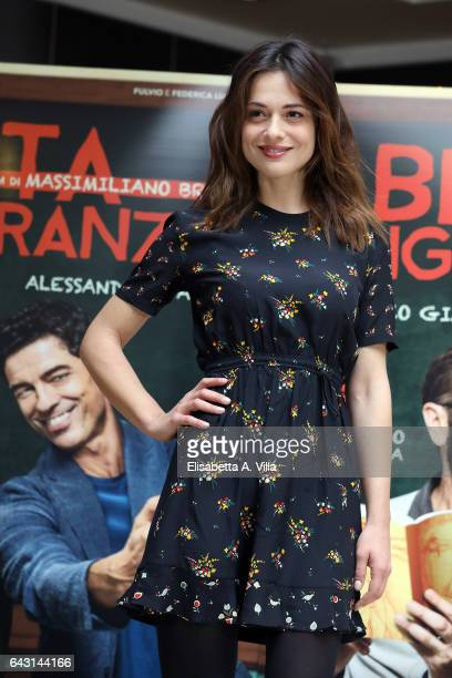 Actress Valeria Bilello attends a photocall for 'Beata Ignoranza' on February 20 2017 in Rome Italy