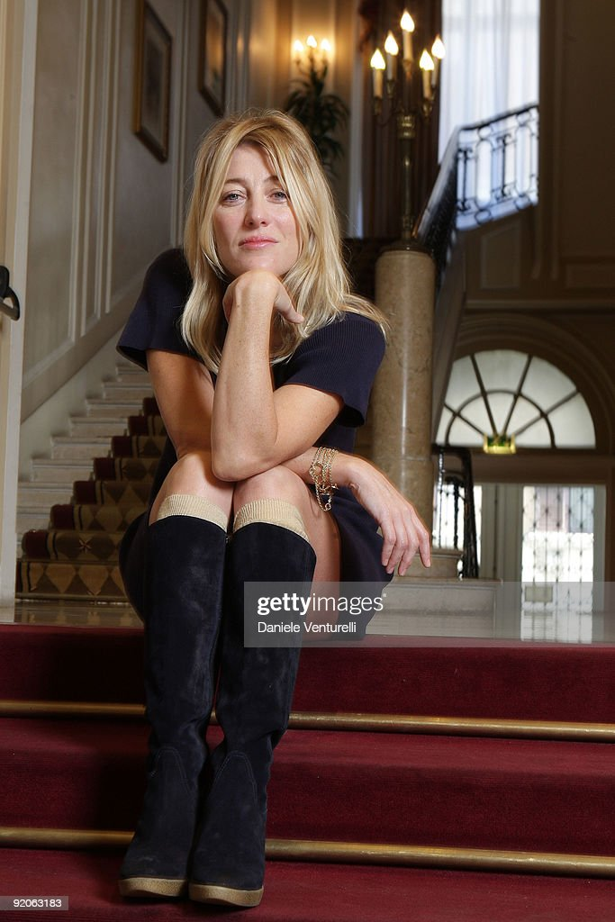 Actress Valeria Bruni Tedeschi attends a portrait session for the movie 'Les Regrets' during the 4th Rome International Film Festival held at the Westin Excelsior Rome on October 20, 2009 in Rome, Italy.