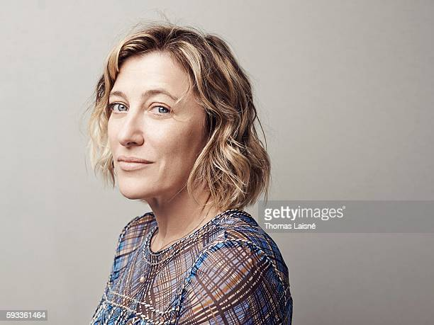 Actress Valeria Bruni Tedeschi is photographed for Self Assignment on May 17 2015 in Cannes France