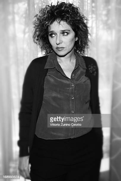 Actress Valeria Golino attends the 'Miele' Portrait Session during The 66th Annual Cannes Film Festival at Grand Hotel on May 18 2013 in Cannes France