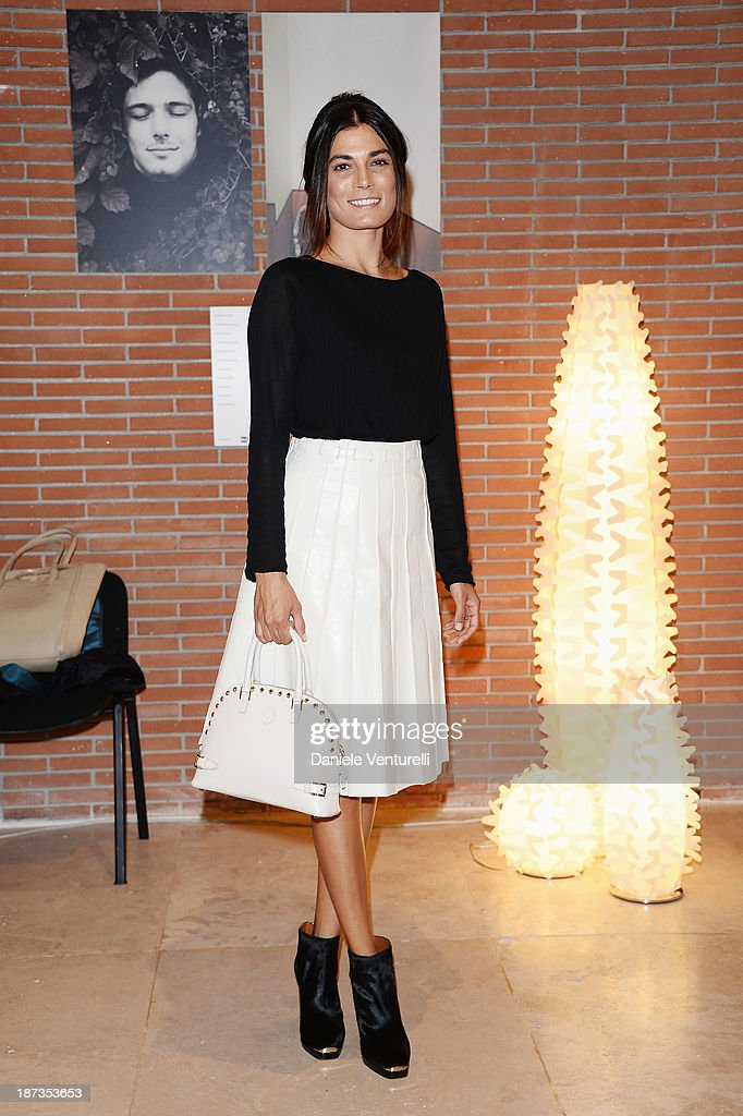 Actress Valeria Solarino attends the Rome Film Festival Opening Press Conference during the 8th Rome Film Festival at the Auditorium Parco Della Musica on November 8, 2013 in Rome, Italy.