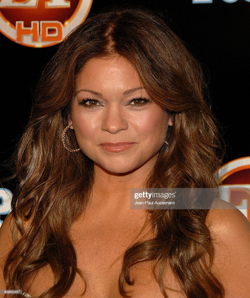 Actress Valerie Bertinelli arrives at the 'Entertainment Tonight' Emmy party held at the Walt Disney Concert Hall on Sunday September 21st, 2008 in Los Angeles, California.