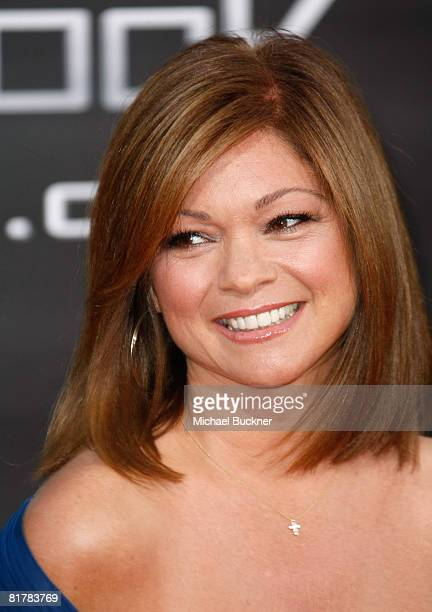 Actress Valerie Bertinelli arrives to the Premiere of Sony Pictures' 'Hancock' at Grauman's Chinese Theatre on June 30 2008 in Hollywood California