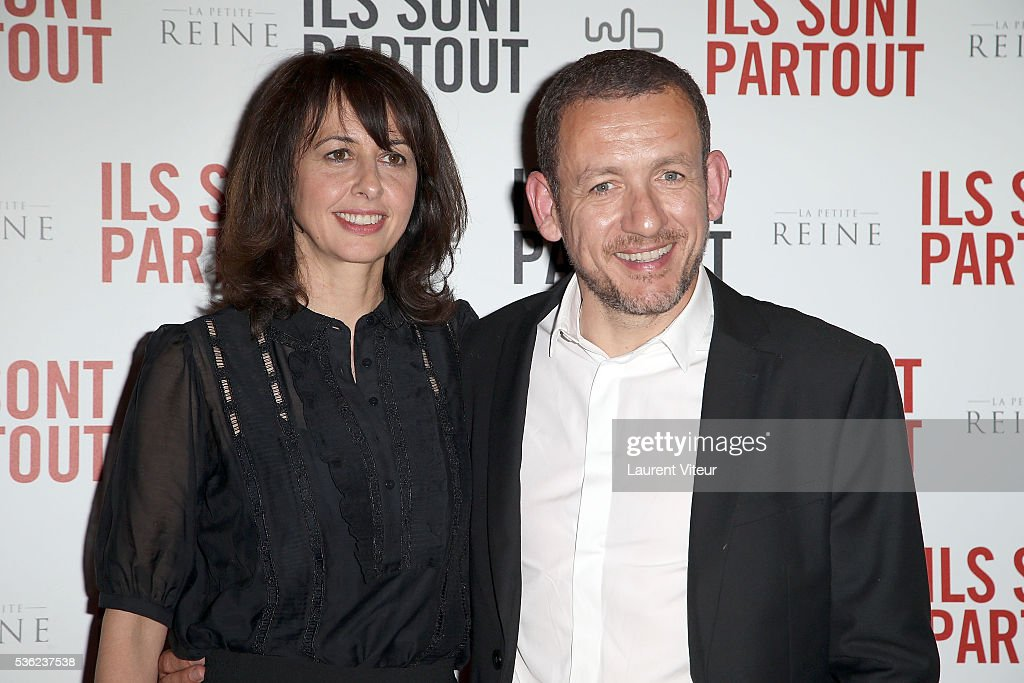 Actress Valerie Bonneton and Actor <a gi-track='captionPersonalityLinkClicked' href=/galleries/search?phrase=Dany+Boon&family=editorial&specificpeople=612915 ng-click='$event.stopPropagation()'>Dany Boon</a> attend 'Ils sont Partout' Paris Premiere at Gaumont Capucines on May 31, 2016 in Paris, France.
