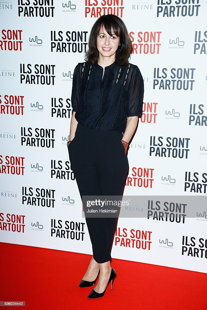 Actress <a gi-track='captionPersonalityLinkClicked' href=/galleries/search?phrase=Valerie+Bonneton&family=editorial&specificpeople=5298117 ng-click='$event.stopPropagation()'>Valerie Bonneton</a> attends 'Ils sont Partout' Paris Premiere at Gaumont Capucines on May 31, 2016 in Paris, France.