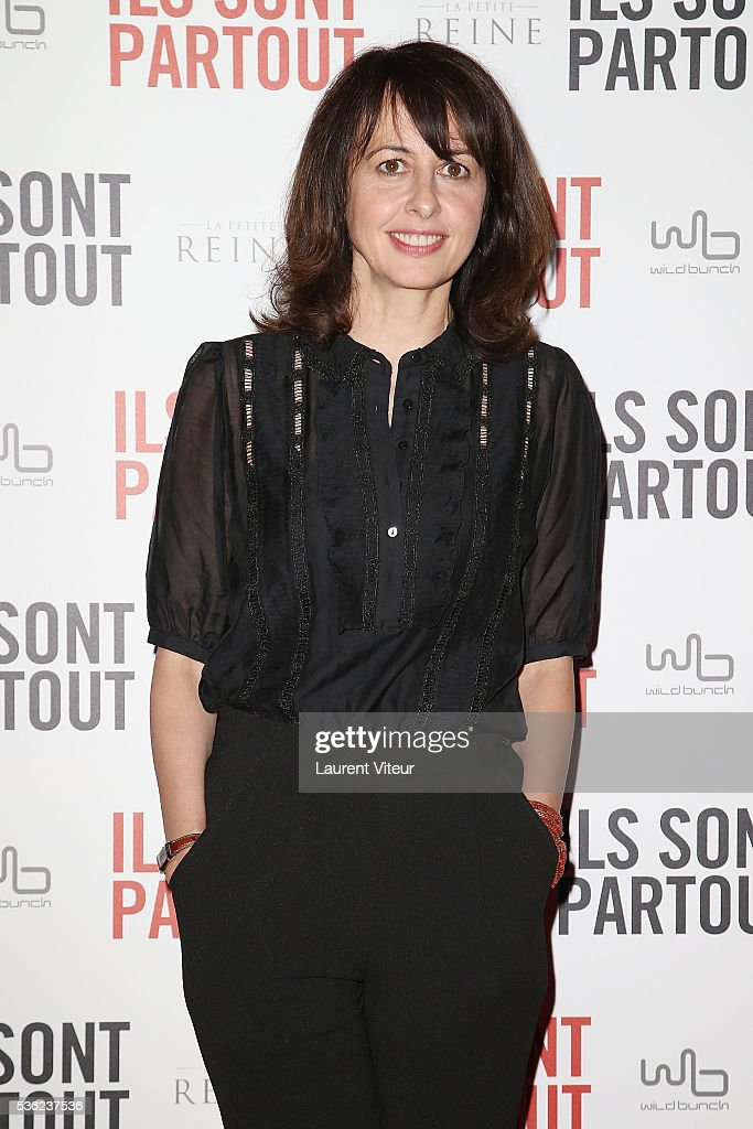 Actress Valerie Bonneton attends 'Ils sont Partout' Paris Premiere at Gaumont Capucines on May 31, 2016 in Paris, France.