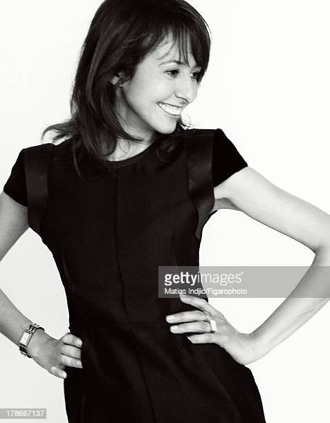 107274002 Actress Valerie Bonneton is photographed for Madame Figaro on July 24 2013 in Paris France Dress signet PUBLISHED IMAGE CREDIT MUST READ...
