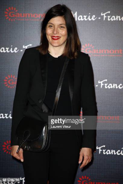 Actress Valerie Donzelli attends 'MarieFrancine' Paris Premiere at Cinema l'Arlequin on May 9 2017 in Paris France