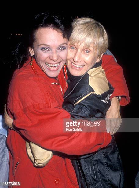 Actress Valerie Harper and actress Cloris Leachman attend the Circus Vargas' 20th Anniversary Celebration to Benefit the Athletes and Entertainers...