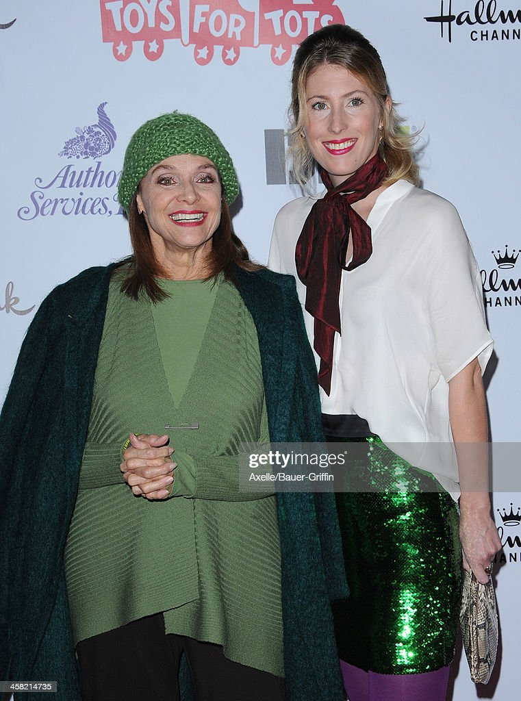 Actress <a gi-track='captionPersonalityLinkClicked' href=/galleries/search?phrase=Valerie+Harper&family=editorial&specificpeople=206853 ng-click='$event.stopPropagation()'>Valerie Harper</a> (L) and daughter Cristina Cacciotti attend The Hollywood Christmas Parade Benefiting Toys For Tots Foundation on December 1, 2013 in Hollywood, California.