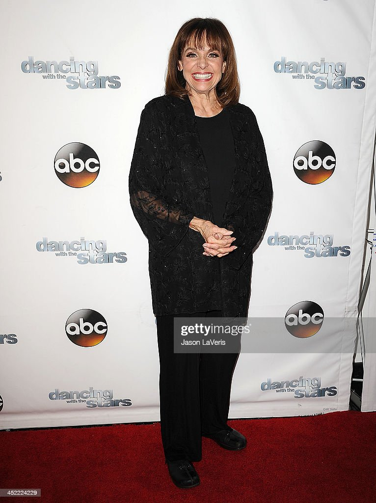 Actress <a gi-track='captionPersonalityLinkClicked' href=/galleries/search?phrase=Valerie+Harper&family=editorial&specificpeople=206853 ng-click='$event.stopPropagation()'>Valerie Harper</a> attends the 'Dancing With The Stars' wrap party at Sofitel Hotel on November 26, 2013 in Los Angeles, California.