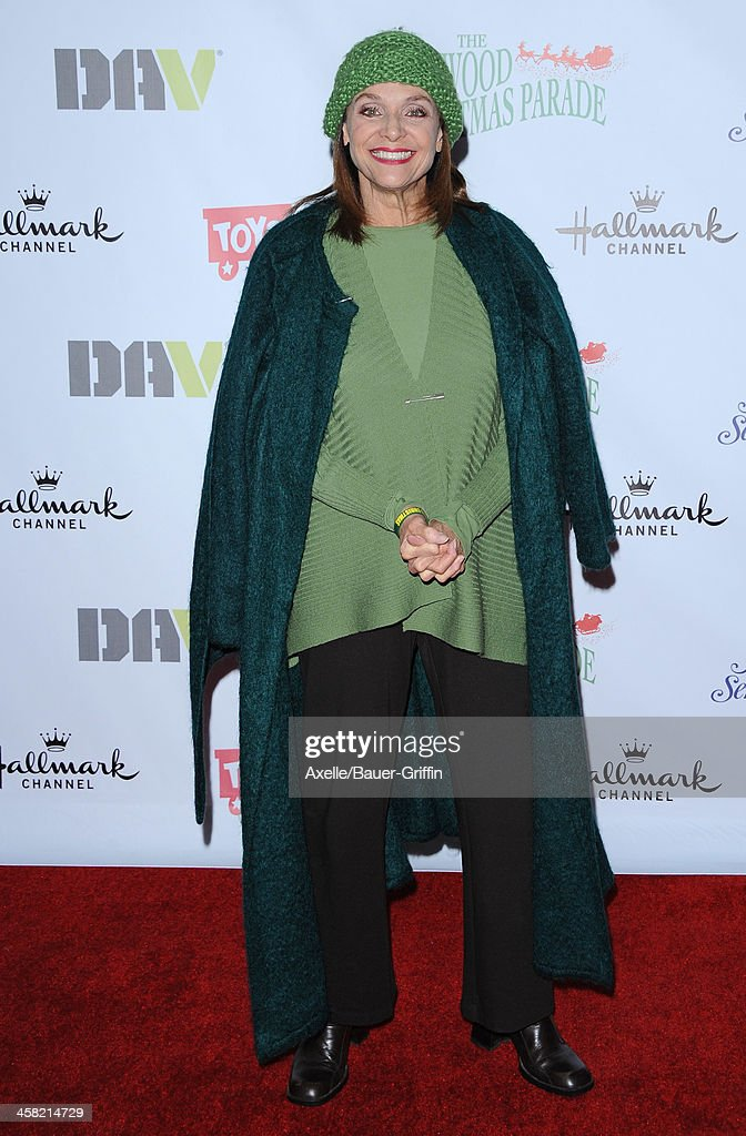 Actress <a gi-track='captionPersonalityLinkClicked' href=/galleries/search?phrase=Valerie+Harper&family=editorial&specificpeople=206853 ng-click='$event.stopPropagation()'>Valerie Harper</a> attends The Hollywood Christmas Parade Benefiting Toys For Tots Foundation on December 1, 2013 in Hollywood, California.