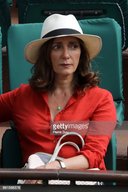 Actress Valerie Karsenti is spotted at Roland Garros on June 2 2017 in Paris France
