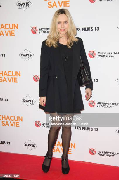 Actress Valerie Steffen attends the 'Chacun Sa vie' Paris Premiere at Cinema UGC Normandie on March 13 2017 in Paris France