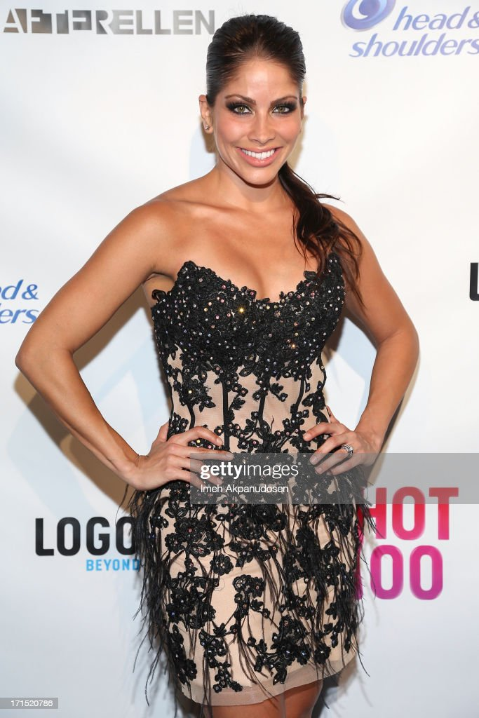 Actress <a gi-track='captionPersonalityLinkClicked' href=/galleries/search?phrase=Valery+Ortiz&family=editorial&specificpeople=642267 ng-click='$event.stopPropagation()'>Valery Ortiz</a> attends Logo's 'Hot 100' Party at Drai's Lounge in W Hollywood on June 25, 2013 in Hollywood, California.