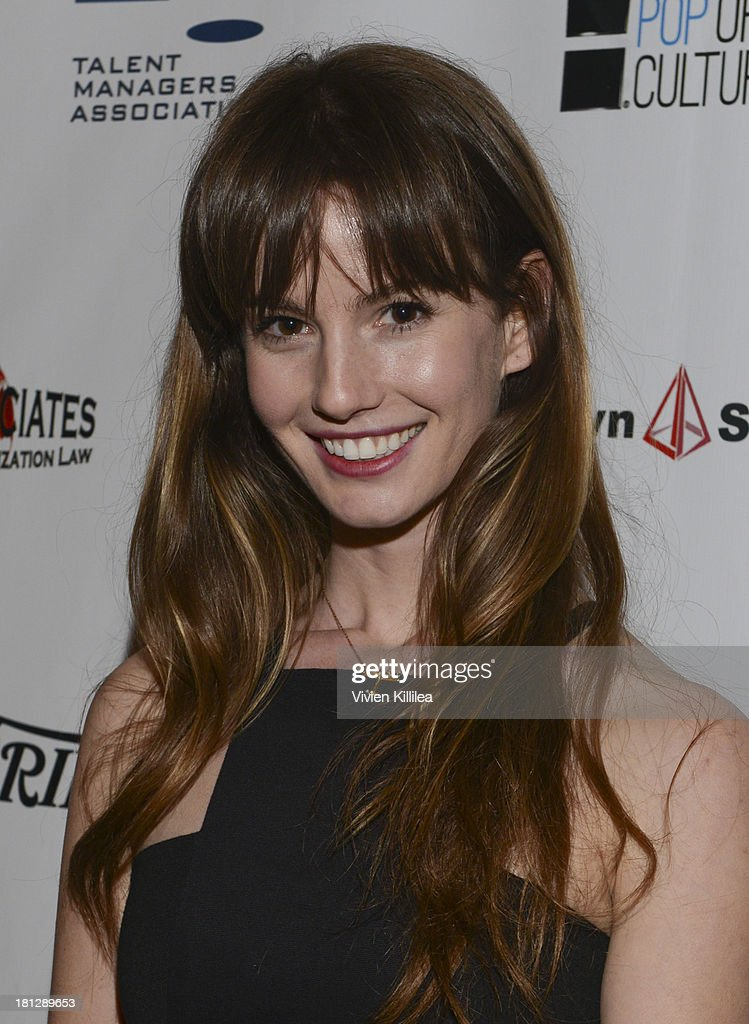 Actress Valeska Mosich-Miller attends the 12th Annual Heller Awards at The Beverly Hilton Hotel on September 19, 2013 in Beverly Hills, California.
