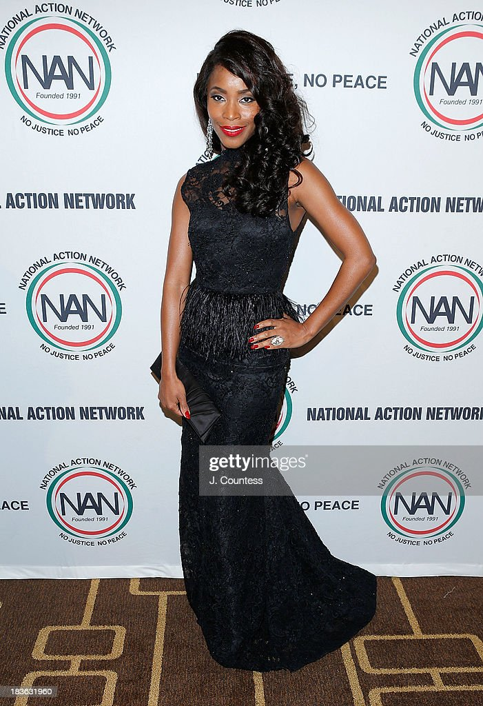 Actress Valisia Lekae attends The 4th Annual Triumph Awards at Rose Theater, Jazz at Lincoln Center on October 7, 2013 in New York City.