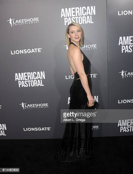 Actress Valorie Curry arrives for the Special Screening Of Lionsgate's 'American Pastoral' held at the Samuel Goldwyn Theater on October 13 2016 in...