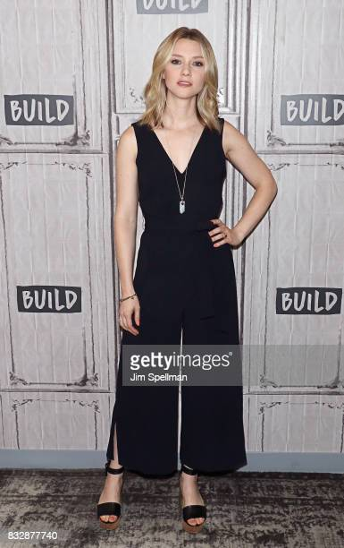 Actress Valorie Curry attends Build to discuss 'The Tick' at Build Studio on August 16 2017 in New York City