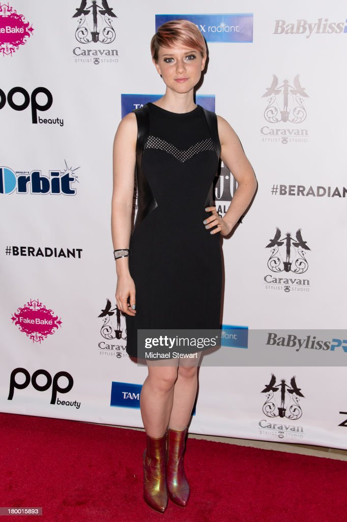 Actress <a gi-track='captionPersonalityLinkClicked' href=/galleries/search?phrase=Valorie+Curry&family=editorial&specificpeople=4070870 ng-click='$event.stopPropagation()'>Valorie Curry</a> attends Caravan Stylist Studio's Fashion Week Soiree at Carlton Hotel on September 7, 2013 in New York City.