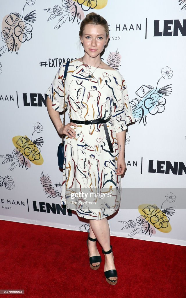 Actress Valorie Curry attends The 2nd Anniversary Party for Lenny, in partnership with Cole Haan at The Jane Hotel on September 15, 2017 in New York City.