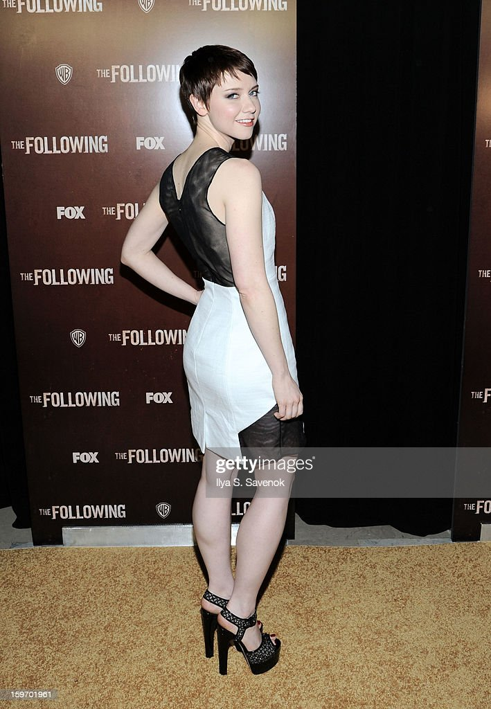 Actress Valorie Curry attends 'The Following' World Premiere at The New York Public Library on January 18, 2013 in New York City.