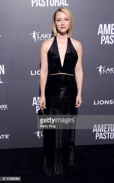 Actress Valorie Curry attends the premiere of Lionsgate's' 'American Pastoral' at Samuel Goldwyn Theatre on October 13 2016 in Beverly Hills...
