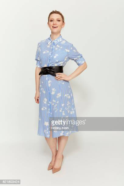 Actress Valorie Curry from Amazon's 'The Tick' poses for a portrait during ComicCon 2017 at Hard Rock Hotel San Diego on July 21 2017 in San Diego...