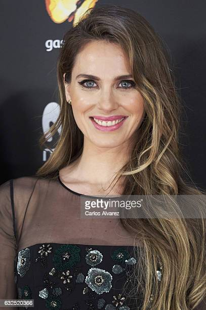 Actress Vanesa Romero attends the Feroz cinema awards 2016 at the Duques de Pastrana Palace on January 23 2017 in Madrid Spain