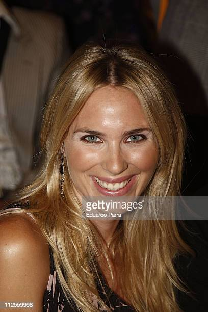 Actress Vanesa Romero attends the Madrid Fashion Week Pasarela Cibeles at Parque el Retiro on September 19 2007 in Madrid Spain