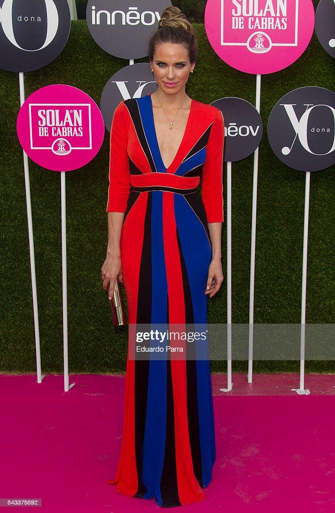 Actress Vanesa Romero attends the 'Yo Dona' international awards at La Quinta de la Munoza on June 27, 2016 in Madrid, Spain.
