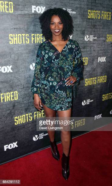 Actress Vanessa A Williams attends a screening and discussion of FOX's 'Shots Fired' at Pacific Design Center on March 16 2017 in West Hollywood...