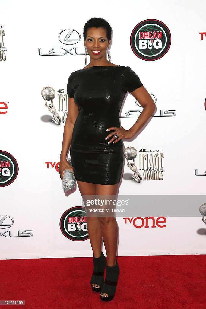 Actress Vanessa A Williams attends the 45th NAACP Image Awards presented by TV One at Pasadena Civic Auditorium on February 22 2014 in Pasadena...