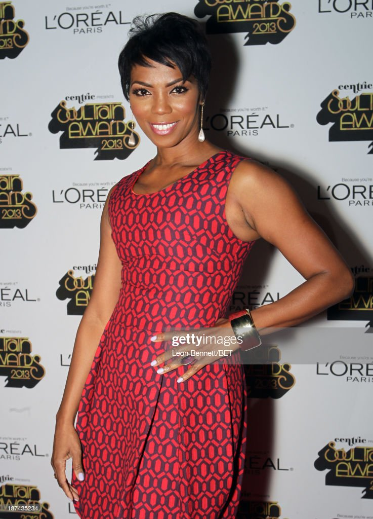 Actress <a gi-track='captionPersonalityLinkClicked' href=/galleries/search?phrase=Vanessa+A.+Williams&family=editorial&specificpeople=2181191 ng-click='$event.stopPropagation()'>Vanessa A. Williams</a> attends the Soul Train Awards 2013 at the Orleans Arena on November 8, 2013 in Las Vegas, Nevada.
