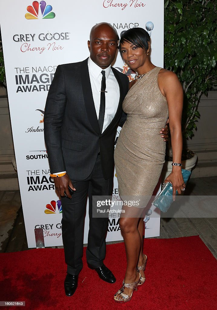 Actress Vanessa A. Williams (R) attends the The 44th NAACP Image Awards post show gala at the Millennium Biltmore Hotel on February 1, 2013 in Los Angeles, California.
