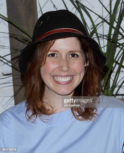 Actress Vanessa Bayer attends 'Colin Quinn The New York Story' Opening Night at Duet Brasserie on July 23 2015 in New York City