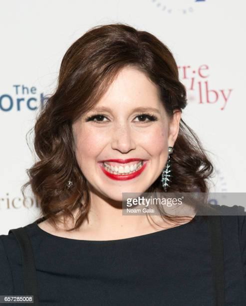 Actress Vanessa Bayer attends the 'Carrie Pilby' New York screening at Landmark Sunshine Cinema on March 23 2017 in New York City