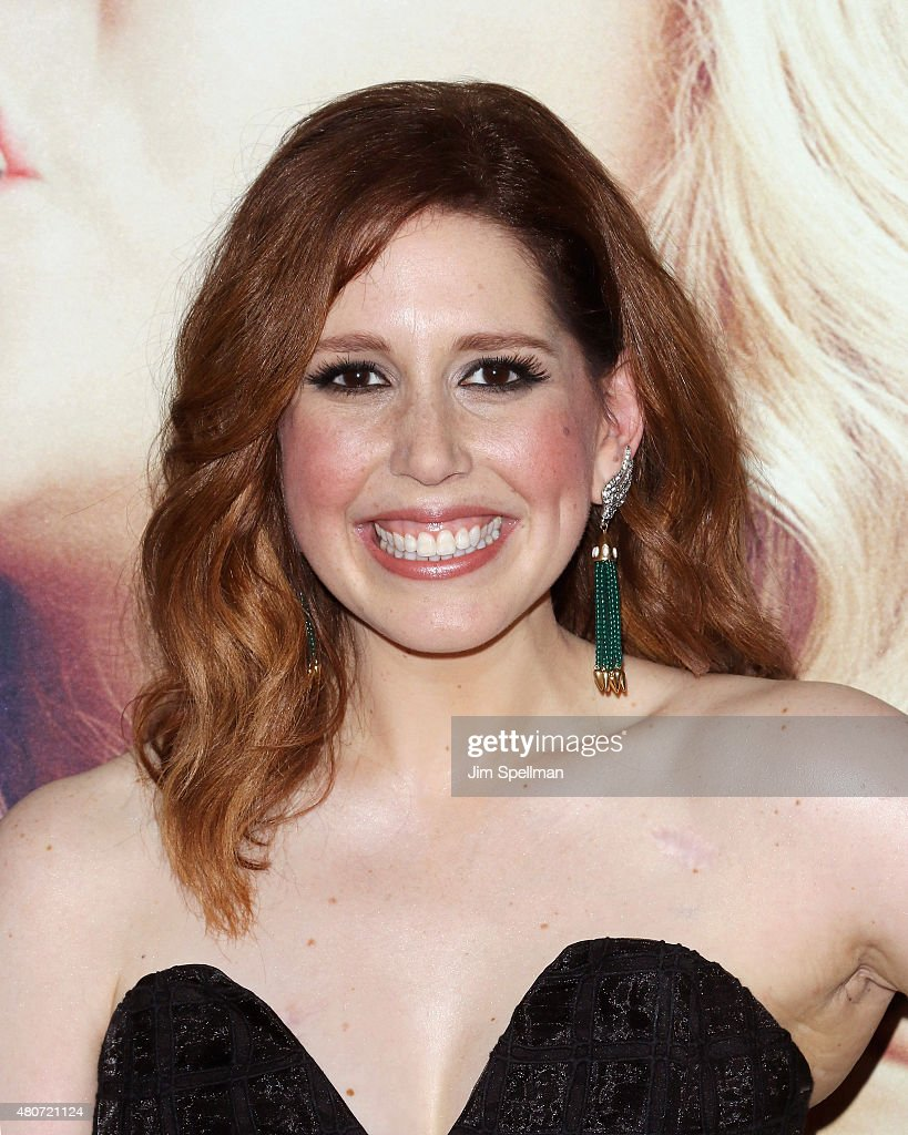 Actress Vanessa Bayer attends the 'Trainwreck' New York premiere at Alice Tully Hall on July 14 2015 in New York City