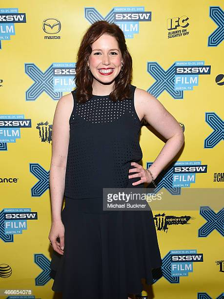 Actress Vanessa Bayer who hosted the evening poses during the SXSW FIlm Awards at the 2015 SXSW Music FIlm Interactive Festival at the Paramount...