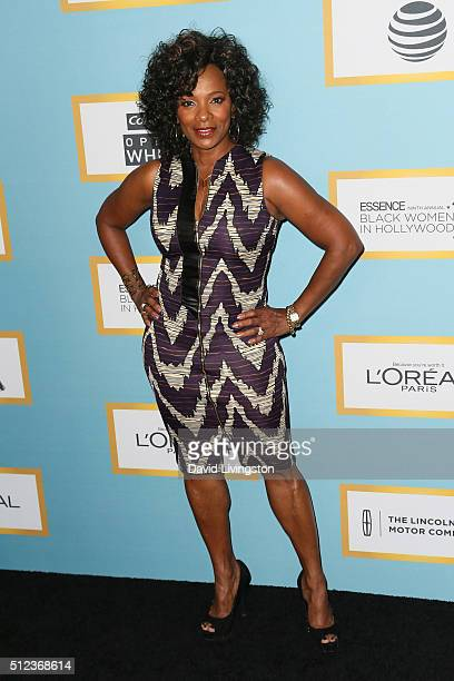 Actress Vanessa Bell Calloway arrives at the Essence 9th Annual Black Women event in Hollywood at the Beverly Wilshire Four Seasons Hotel on February...