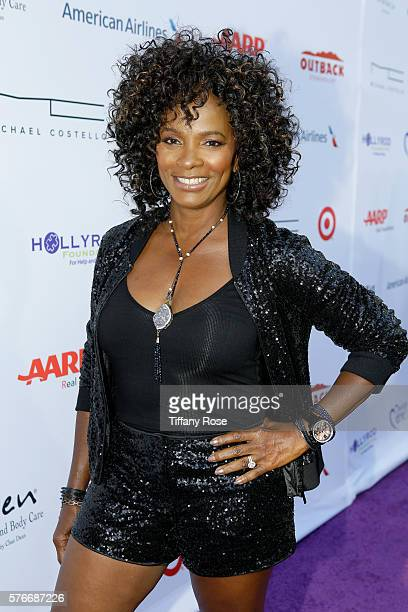 Actress Vanessa Bell Calloway attends HollyRod Foundation's DesignCare Gala on July 16 2016 in Pacific Palisades California