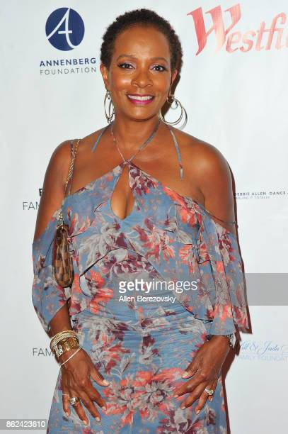 Actress Vanessa Bell Calloway attends Sunday Matinee of 'Turn Me Loose' at Wallis Annenberg Center for the Performing Arts on October 15 2017 in...