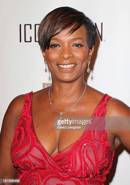 Actress Vanessa Bell Calloway attends the ICON MANN Gala at the Peninsula Hotel on September 20 2013 in Beverly Hills California