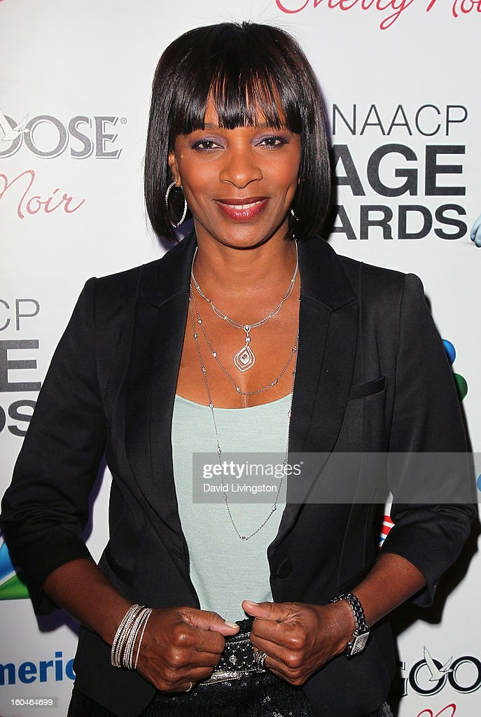 Actress Vanessa Bell Calloway attends the NAACP Image Awards Pre-Gala at Vibiana on January 31, 2013 in Los Angeles, California.